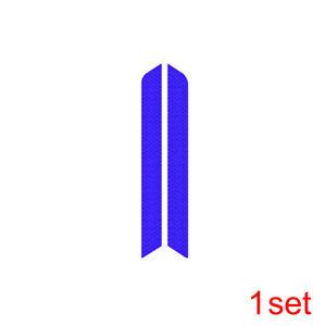 1 Pair Reflective Warning Strip Tape Car Safety Bumper Reflector Sticker Decal