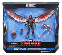 MARVEL LEGENDS SERIES CIVIL WAR FALCON & REDWING DELUXE PACK 3.75""