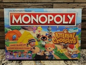 Monopoly Animal Crossing New Horizons Edition Board Game - New & Sealed