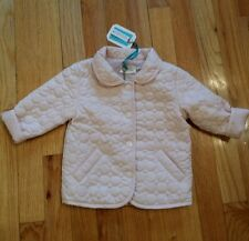 NWT NEW Silvian Heach Dolls baby girls pink quilted jacket 6m