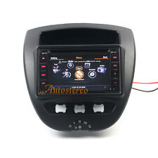 Car Stereo Satnav DVD Headunit Autoradio for Citroen C1 Toyota Aygo Peugeot 107