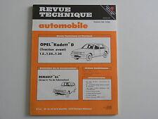 revue technique automobile RTA Opel KADETT D traction avant n° 405