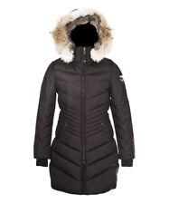 Pajar Canada Brooklyn Long Parka Fur Coat Black Women SZ S - L Retail $785