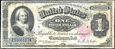 1886 $1 SILVER CER-18 KNOWN ONLY-FR#221-RAREST MARTHA