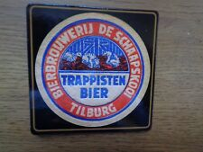 Trappist La trappe onderlegger Coaster new brouwerij De Schaapskooi kurk blue