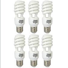 6 PC Daylight Bulb Light 33 W Energy Saving 150 Watt Output White Fluorescent