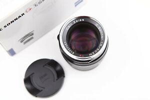 Zeiss C Sonnar T* 50mm f/1.5 ZM Schwarz (Leica M)