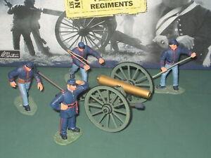 Britains US Civil War Union Artillery Lot