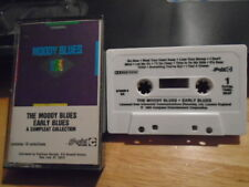 RARE OOP PROMO The Moody Blues CASSETTE TAPE Early Blues 19tr COMPLEAT rock 1985