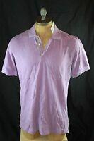 AUTH $128 Robert Graham Men's Berry Polo Shirt  M