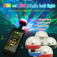 Portable USB Party Lights Mini Disco Ball LED DJ Lighting Romantic