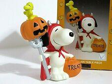 New ListingSnoopy Peanuts Charlie Brown Kurt Adler Ceramic Halloween Figure Figurine 2000