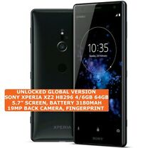 SONY XPERIA XZ2 H8296 4/6gb 64gb DualSim 19mp Fingerprint 5.7 Android Smartphone