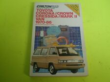 1970-1986 Toyota Corona Crown Cressida Markii Van Chilton Repair Service Manual
