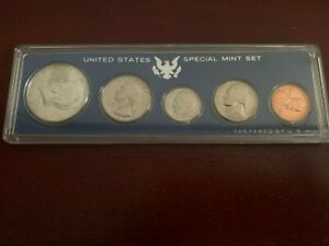 1967-S Uncirculated Special Mint Set SMS in Original Case (No Outer Box)
