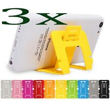 3pcs Universal Foldable Stand Holder Cradle Desktop Clip For i Phone smart phone