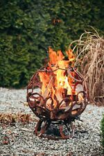 Feuerkorb ACDC Feuerstelle Feuerschale Feuertonne Edelrost Feuersäule Gartendeko