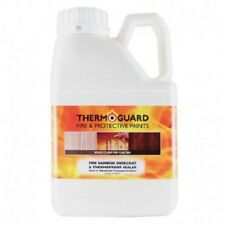 Thermoguard Fire Retardant Intumescent Varnish Overcoat For Internal Wood Timber
