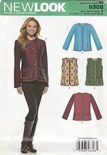 From UK Sewing Pattern Jacket 10-22 #6308