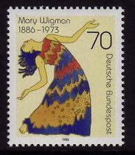 W Germania 1986 Mary wigman SG 2147 MNH