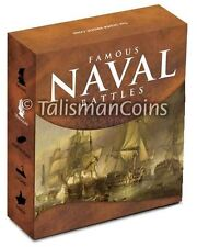 Cook Islands 2010 Famous Naval Sea Battles Trafalgar HMS Victory $1 Silver Proof