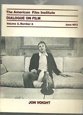 AFI Dialogue on Film RARE industry magazine 1973 Jon Voight Deliverance