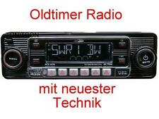 "Retro Look Radio""altes Autoradio""schwarz Oldtimer Opel Ascona Manta Kadett A B C"