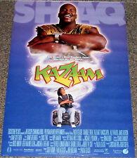KAZAAM 1996 ORIGINAL 18x27 MOVIE POSTER! SHAQUILLE O'NEAL COMEDY FANTASY CLASSIC