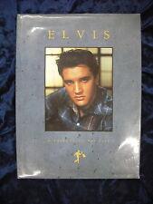 ELVIS : A TRIBUTE TO HIS LIFE by SUSAN DOLL  H/B D/W  Pub. OMNIBUS PRESS  1990
