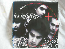 VINYL 45 T FRENCH POP ROCK – LES INFIDELES : REBELLE + BILLIE – TREMA 1990