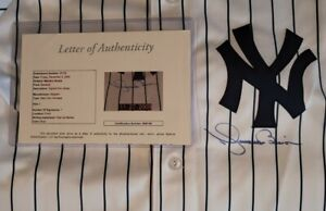 Mariano Rivera Autographed Majestic Jersey with JSA LOA Size L