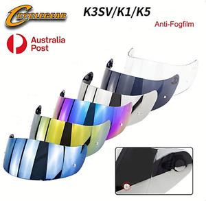 Motorcycle Helmet Visor AGV K5 K3SV K1 Helmet Glasses Lens Full Face Anti-fog AU