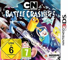 Nintendo 3DS juego Cartoon Network - batalla Crashers 2DS