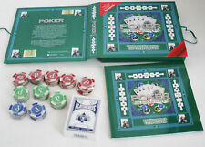 Pokerset Pokerchips Karten Poker Chips Jetons Metallbox To GO!