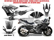 AMR RACING DEKOR GRAPHIC KIT SUZUKI GSX-R 600/750/1000/1300 CARBON X B