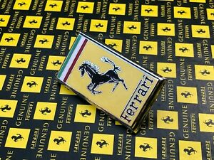 Ferrari Original VINTAGE Prancing Horse Hood Bonnet Boot Nose Emblem Badge TOP