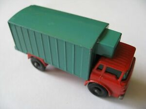 VINTAGE MATCHBOX SERIES No44 REFRIGERATOR TRUCK MADE IN ENGLAND 1967 BY LESNEY