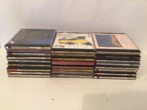 Classical Easy Listening  CD LOT Of 25 Mozart Chopin Glenn Miller Tchaikovsky