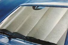EXTRA LARGE SILVER FRONT WINDSCREEN INSULATED INTERIOR CAR SUNSHADE 140CM X 79CM