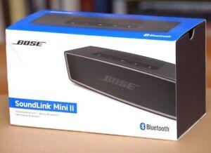 NEW BOSE SoundLink Mini II Wireless Bluetooth Mobile Phone Speaker CARBON/BLACK