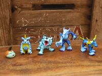 Digimon Gabumon Evolution Mini Figure Bundle Bandai