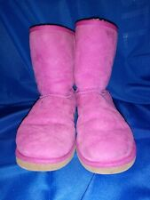 Pink uggs size 9