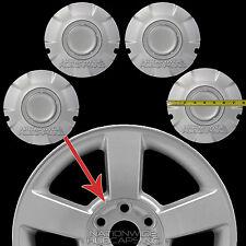 "4 New 03-07 Silverado 20"" Alloy Wheel Center Hub Caps Hubs 6 Lug Nut Rim Covers"