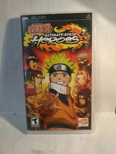Naruto: Ultimate Ninja Heroes (Sony PSP, 2007) NO MANUEL