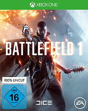 Battlefield 1 (Microsoft Xbox One, 2016, DVD-Box)