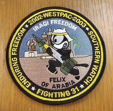 001 - VF-31 Patch OIF Felix of Arabia WESTPAC 2002 - 2003