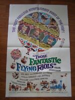 Vintage Movie Poster 1 sheet Those Fantastic Flying Fools 1967 Burl Ives