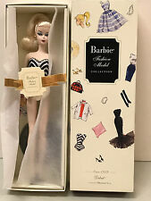 Debut Barbie Doll from the Silkstone Fashion Model Collection NRFB wt box tissue