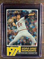 Jim Palmer Baseball Card #WSH-7 Topps Heritage MLB HOF Baltimore Orioles MINT SP