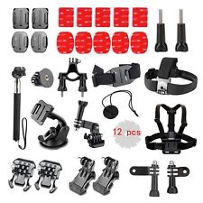 Accessories Bundle Kit for Apeman A80 A70 Gopro Hero 5 4 3+ 3 2 1 Session Black
